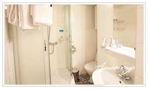 Ванная комната каюты полулюкс